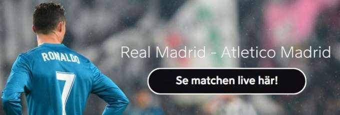 Real Madrid Atletico Madrid TV kanal