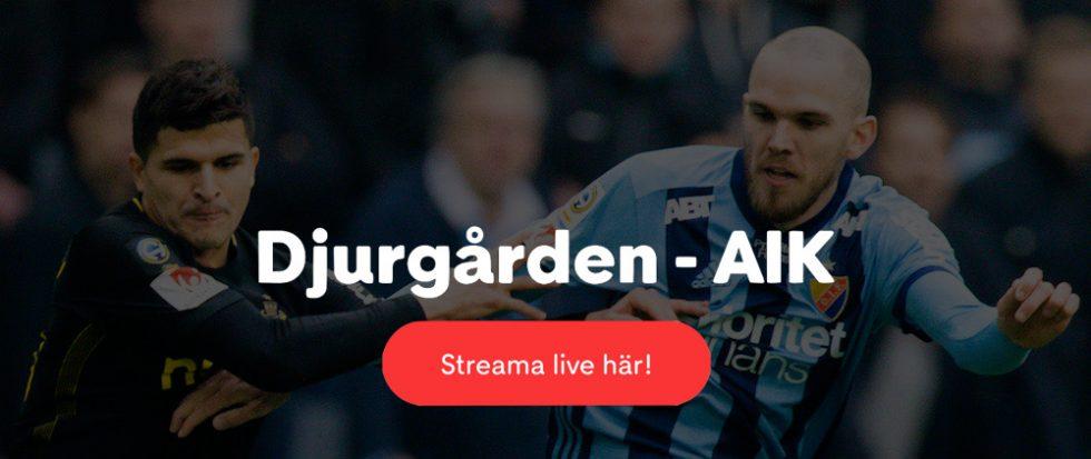 AIK Djurgården live stream 2019